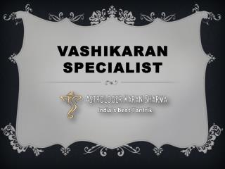 Indian Famous Astrologer & Vashikaran Expert - Pandit Karan Sharma