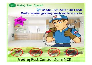Godrej Pest Control Delhi NCR Call us at 9811381458