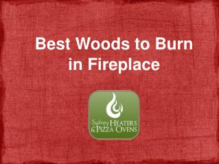 Best Woods to Burn in Fireplace
