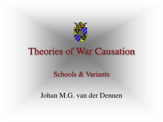 Theories of War Causation