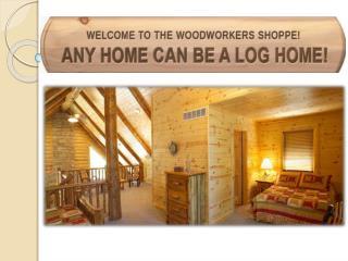 home interior log siding