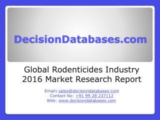 Rodenticides Market Analysis 2016 Development Trends