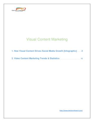 Visual Content Marketing | Social Media Marketing