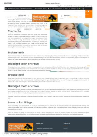 Oral Treatment With Expert Dentist Edmonton