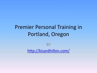 personal trainer Portland