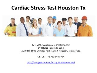 occupational medicine in houston tx