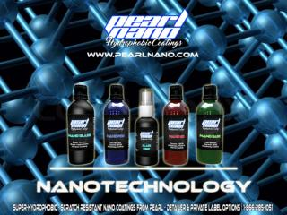 Car coating with Nanotechnology - Pearl Nano.
