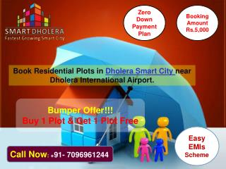 Agriculture land sale in Greenfield smart City Dholera