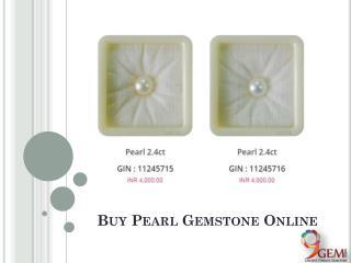 Buy Natural Pearl Gemstone Online