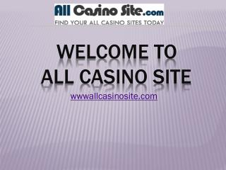 Best Casino Bonuses UK 2016