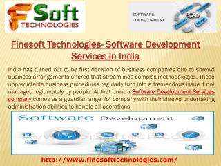 Finesoft Technologies- Software Development Services in India