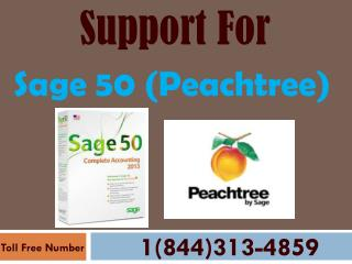 1-844-313-4859 Sage 50 (Peachtree) Technical Support Phone Number
