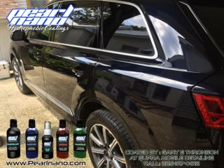 Pearl Nano design for long lasting Car Protection.