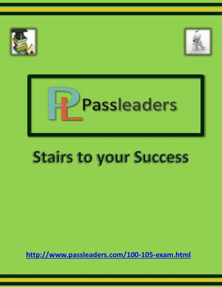Passleader 100-105 Study Material