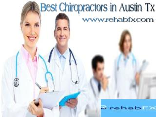 Check with the Best Chiropractors in Austin Tx