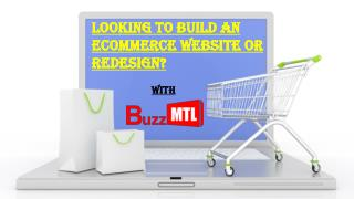 Looking to Build an eCommerce website or Redesign?