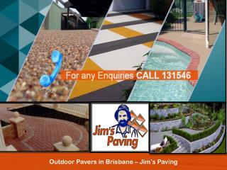 Outdoor Pavers in Brisbane – Jim's Paving