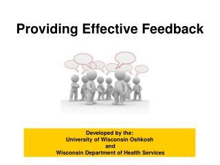 Providing Effective Feedback