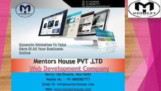 Website Development Company - Website Development Services
