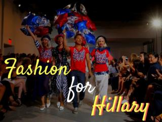Fashion for Hillary