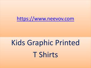 Kids Funny Graphic Turquoise Colour Printed T Shirts