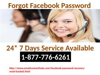 Secure your account Facebook password recovery settings call 1-877-776-6261