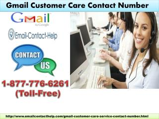 Gmail Customer Care Contact Number 1-877-776-6261 help of Gmail Password issues