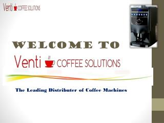 Leading coffee machine suppliers with small espresso machine