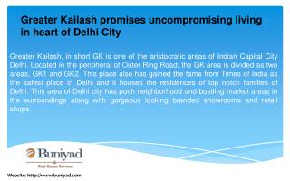 Flats for Sale in Greater Kailash