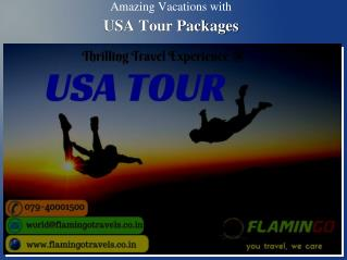 Amazing Vacations with USA Tour Packages