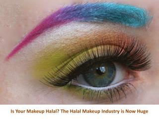 Halal Makeup Industry Tips