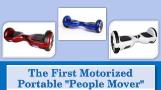 "The First Motorized Portable ""People Mover"""