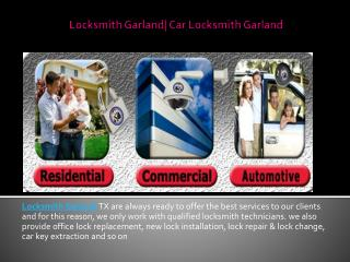 Locksmith garland | Car locksmith garland