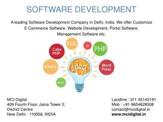 Software Development, Website Development company in Delhi