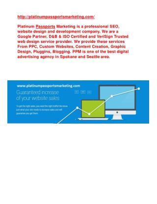Spokane Advertising Agency | www.platinumpassportsmarketing.com/