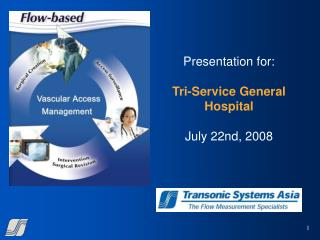 Presentation for: Tri-Service General Hospital July 22nd, 2008