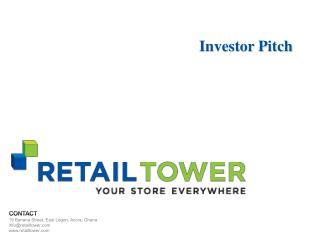 RetailTower Pitch Deck