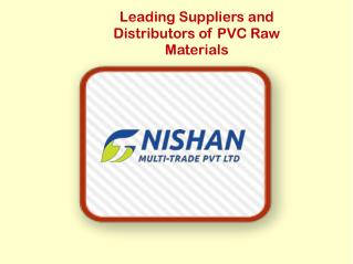 Top PVC Resin Suppliers in India
