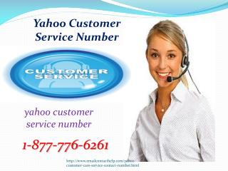 Yahoo Customer Care ? Ring 1-877-776-6261 Yahoo (United States)