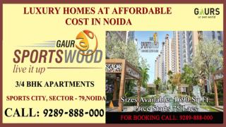 Glorious Home at Gaur Sports Wood Sector 79 Noida