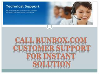 Call Runbox.com Customer Support For Intant Solution.pptx