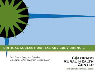 Critical Access Hospital Advisory Council
