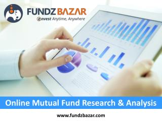 Online Mutual Fund Research & Analysis - FundzBazar
