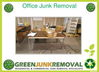 Office Junk Removal Services