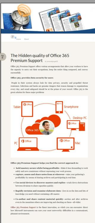 Office 365 Premium Support