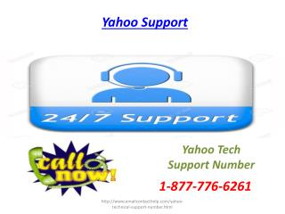 Eyeing for aid? Contact Yahoo Support Number 1-877-776-6261 anytime