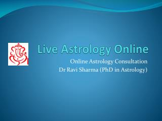 Best free Online Astrology Consultation in India Dr Ravi Sharma