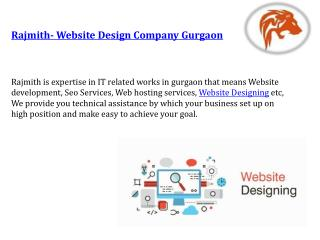 Rajmith- Website Design Company Gurgaon