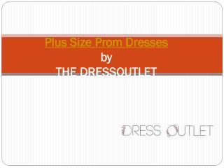 Plus Size Prom Dresses