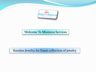 Silver Jewelry, Indian Jewelry Online - miomora.com